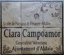 Ceràmica (Rajola de València). Espai públic d'Aldaia (País Valencià) 17.jpg