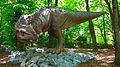 Ceratosaurus, DinoPark Vyškov.JPG