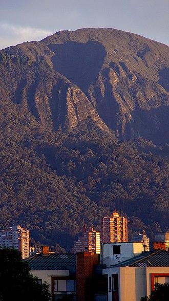Eastern Hills, Bogotá - Aguanoso Hill