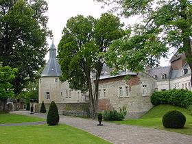 Le château de Ligny-en-Cambrésis.