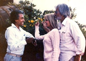 Bo Derek - Bo Derek with husband John Derek and Chandran Rutnam