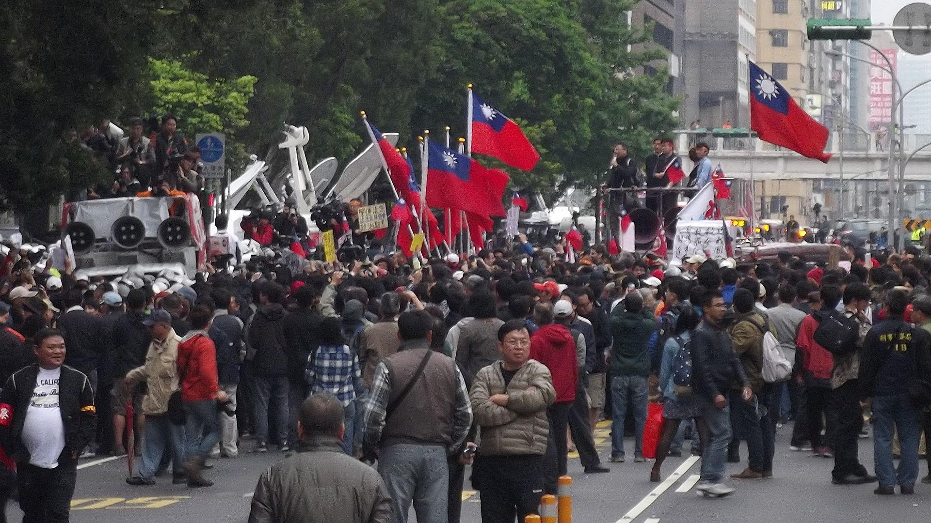 張安樂國會示威事件 - 维基百科,自由的百科全书