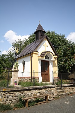 Chapel in Píšť, Pelhřimov District.jpg