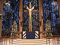 Chapel of the Resurrection - Altar at Christmas.JPG