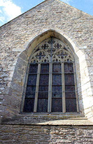 Chapelle Saint-Gobrien de Saint-Servant: fenêtre est