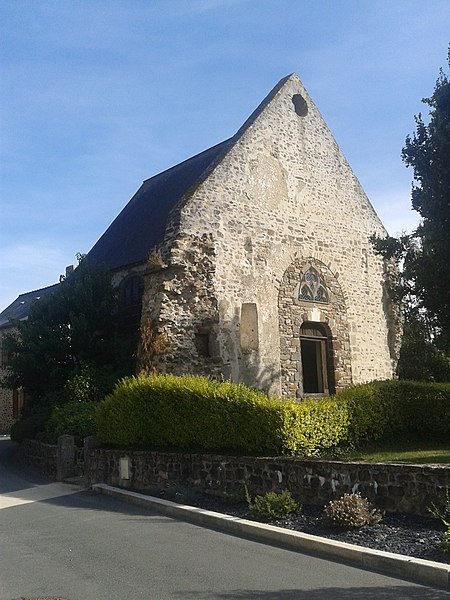 Chapelle Saint-Martin de Montsûrs (Inscrit)