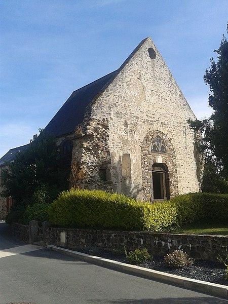 Chapelle Saint-Martin de Montsûrs (Inscrit)