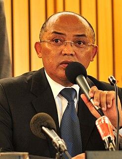 Charles Rabemananjara Malagasy politician
