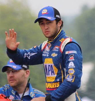 Chase Elliott - Elliott at Road America in 2015
