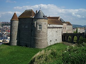 Chateau de Dieppe (France)