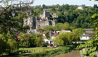 Chepstow Castle from Offa's Dyke Path Chepstow Castle from Offa's Dyke Path.jpg