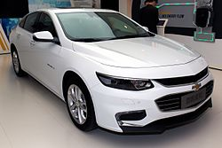 Chevrolet Malibu front-right 2016 Auto China.jpg