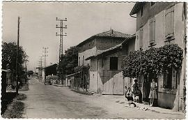 The village in the early 20th century