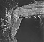Chickamin Glacier, terminus of valley glacier, August 24, 1963 (GLACIERS 6997).jpg