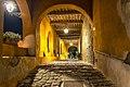Chiesa di San Michele Arcangelo - Porticato esterno notte 6.jpg