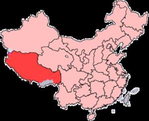 2008 Lhasa violence - Tibet Autonomous Region