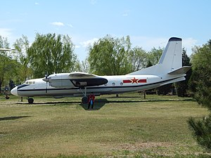 Chinese Air Force An-24, Beijing Aviation Museum (26448805136).jpg