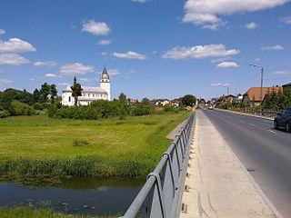 Chorzele Place in Masovian Voivodeship, Poland