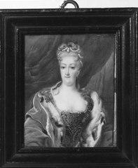 Christiane Eberhardine, 1671-1727 av Brandenburg-Bayreuth gift Sachsen-Polen