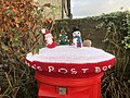 Christmas Crochet Santa's Post Box, Inverkip 4.jpg