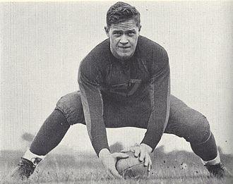 History of Michigan Wolverines football in the Kipke years - Chuck Bernard