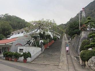 Mining in Taiwan - Chuhuangkeng former oilfield in Gongguan, Miaoli County.