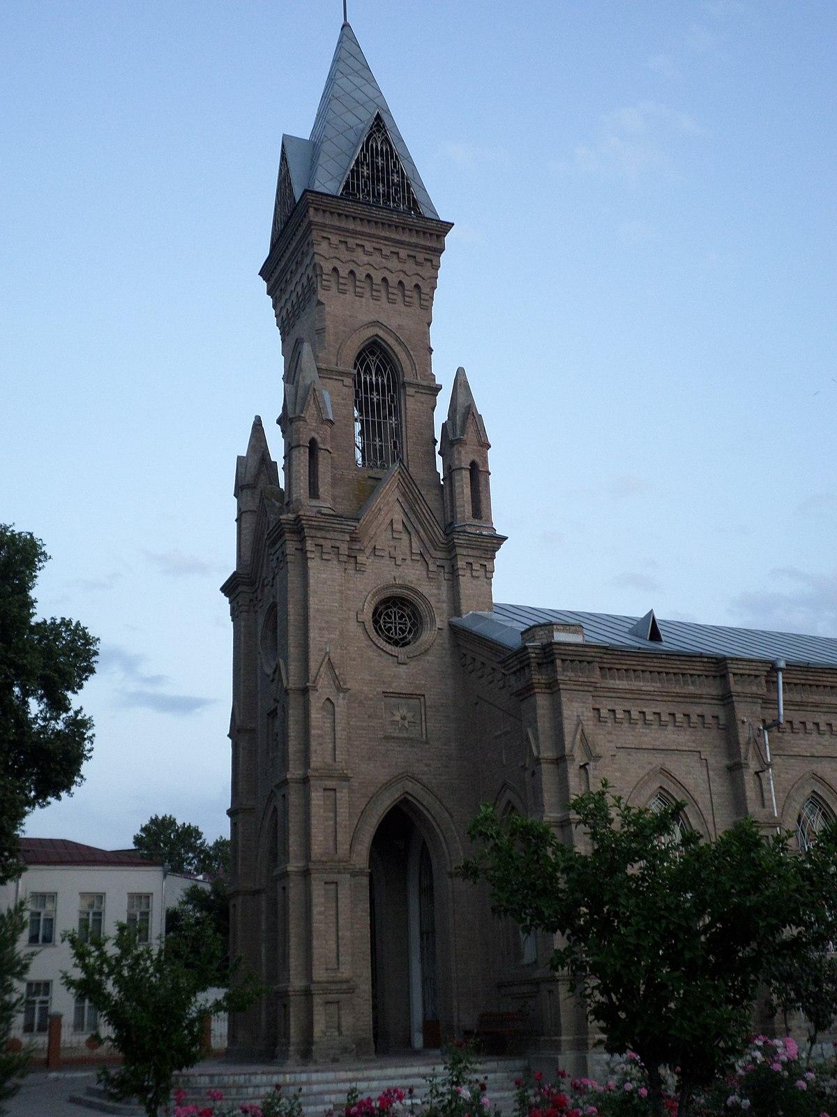 St John The Baptist Church Samarkand