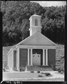 Church in company housing project for miners. Basement also serves as gathering and meeting place for Lion's Club... - NARA - 540888.tif