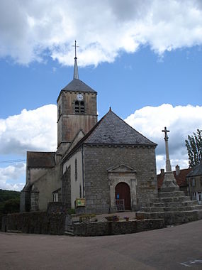 Church of Marigny-l'Église (Nièvre,Fr).JPG
