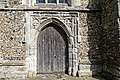Church of St Mary Hatfield Broad Oak Essex England - tower west door.jpg