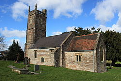 Church of St Nicholas and St Mary, Stowey from south.JPG
