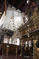 Church of the Nativity iconostasis 2010 11.jpg