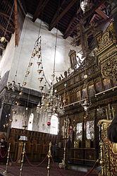 Church of the Nativity iconostasis 2010 11.jpg