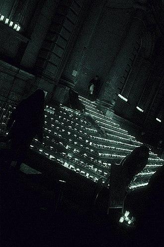 Festival of Lights (Lyon) - Festival of Lights, City Hall, Lyon, December 8, 2015.