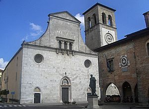 Longobards in Italy, Places of Power (568–774 A.D.) - Image: Cividaledel Friuli Duomo