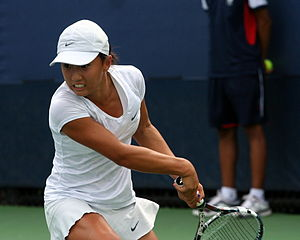 Claire Liu - Liu at the 2013 US Open