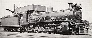 class of 20 South African 4-8-2 locomotives