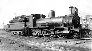 South African Class 6Z 2-6-4 - Image: Class 6Z 2 6 4 no. 715