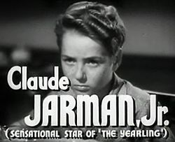 Claude Jarman Jr in High Barbaree trailer.jpg