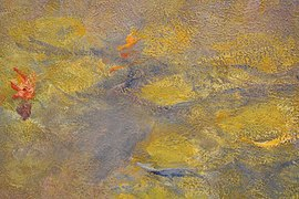 Claude Monet, Nympheas, after 1916, oil on canvas, Tate Modern (detail) - 2.jpg