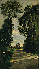 Claude Monet - Walk (Road of the Farm Saint-Siméon) - Google Art Project.jpg