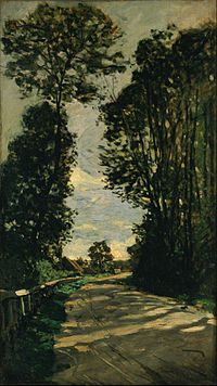Claude Monet - Walk (Road of the Farm Saint-Siméon) - Google Art Project.jpg