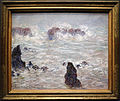 Claude monet, tempesta, costa di belle-ile, 1886.JPG