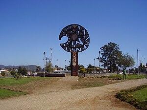 Cañete, Chile - Clava symbol