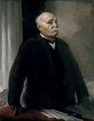 1920 in art - Georges Clemenceau by Cecilia Beaux