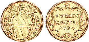 Clemens XII scudo 1734 722378.jpg
