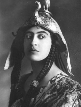 Constance Collier - Collier in Antony and Cleopatra (1906)