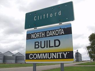 Clifford, North Dakota - Image: Clifford, North Dakota