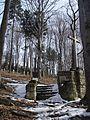 Cmentarz z I wojny światowej na wzgórzu Pustki (Łużna) 1.JPG