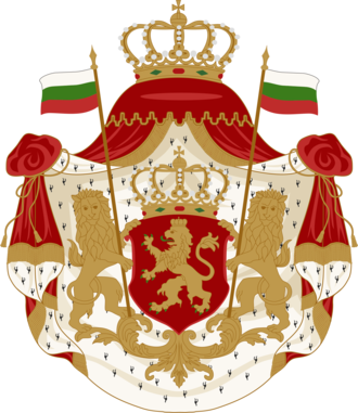 Arms of dominion - Image: Coat of Arms of Bulgaria (1881 1927)
